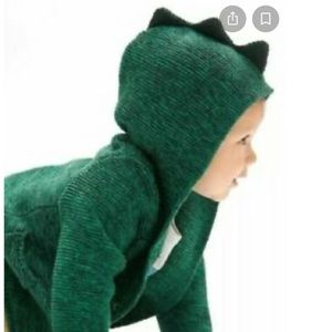 Baby Gap Dino Knit Hooded Sweater
